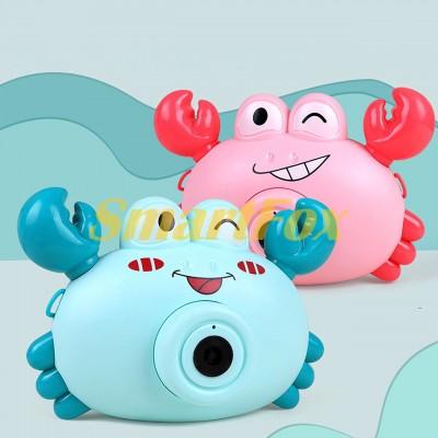 Детский фотоаппарат-игрушка 2020 для создания мыльных пузырей