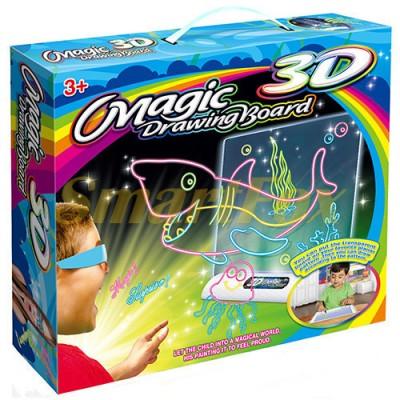 Детская 3D доска для рисования 2022