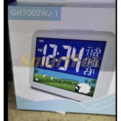 Часы настольные электронные 7002