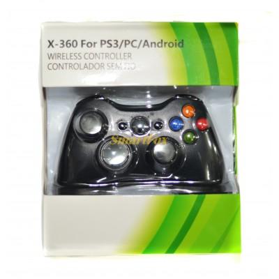 Игровой манипулятор (джойстик) XBOX 360 PS3/PC/ANDROID беспроводной