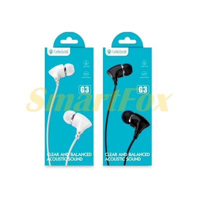 Наушники вакуумные с микрофоном G3-001