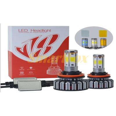 Автомобильные лампы LED H4 V18