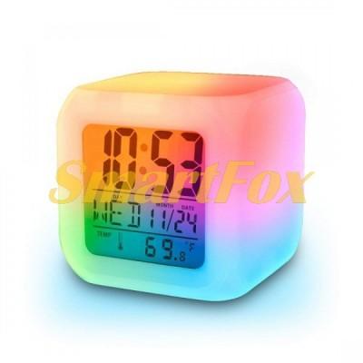 Часы настольные COLOR CHANGE