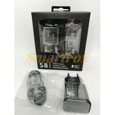 СЗУ USB + кабель microUSB (V8) Fast Charger SAMSUNG SAM-S8-ADPT