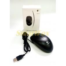 Мышь проводная B100 Logitech