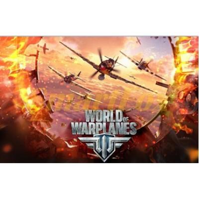 Коврик для мышки World of warplanes №3 (25*29*0.2)