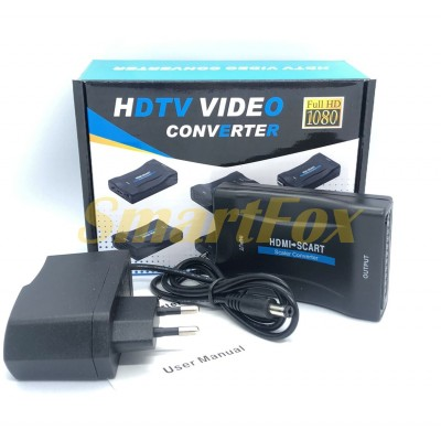 Конвертер видео HDMI/SCART 1080p