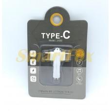Адаптер TYPE-C/3,5 мм + TYPE-C F J-032