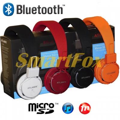 Наушники беспроводные Bluetooth AT-7611 (MP3+FM)