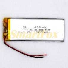 Аккумулятор CL 433080 3,7V 1200mAh