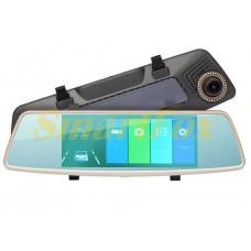 Авторегистратор-зеркало с камерой заднего вида L1002