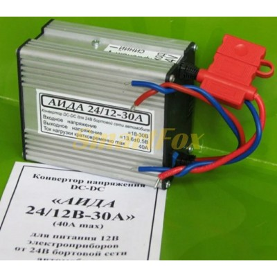 Преобразователь (инвертор) 30A 24*12V