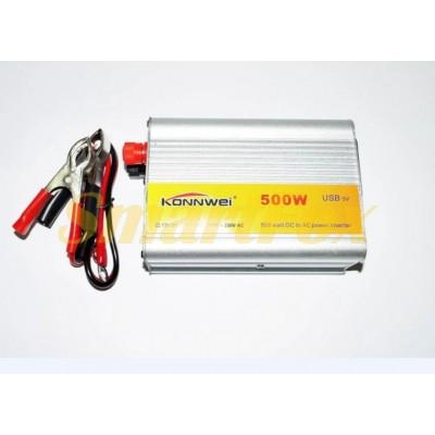 Преобразователь (инвертор) 500 WAT 24V 220