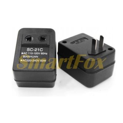 Преобразователь (инвертор) 110V в 220V SC21C