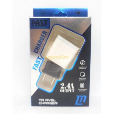 СЗУ USB 5V- 3.5A, 9V-2A, 12V-1.5A Quick charge AR-40 (в упаковке)