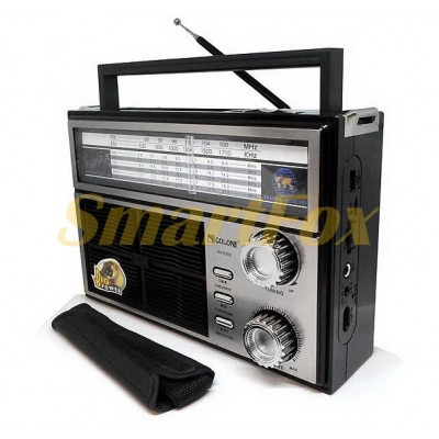 Радиоприемник с USB GOLON RX-BT626S SOLAR + Bluetooth