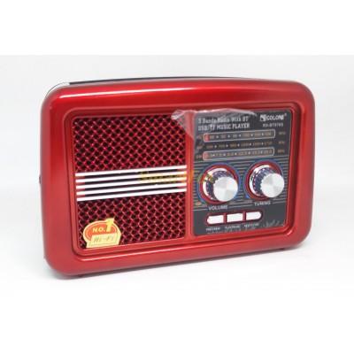 Радиоприемник с USB GOLON RX-BT978S SOLAR + Bluetooth