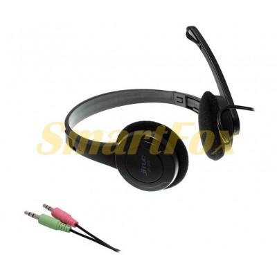 Наушники накладные с микрофоном JITIO JT-218 игровые BLACK