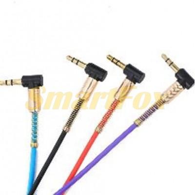 Кабель аудио 3,5 мм/3,5 мм AUDIO CABLE 3.5 elbow audio