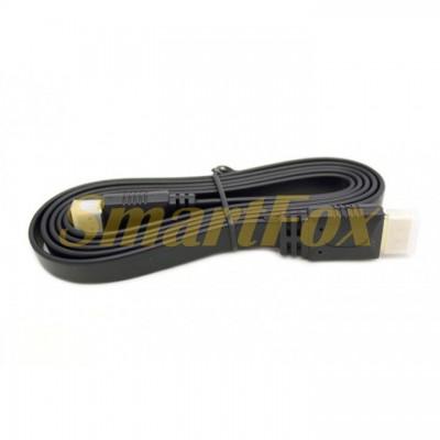 Кабель видео HDMI/HDMI плоский (3 м) (32367)