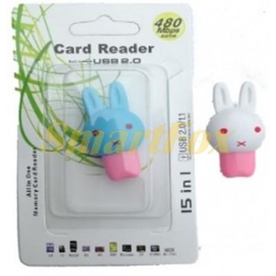 Картридер T-Flash/Micro SD Micro Card Reader ЗАЙЧИК