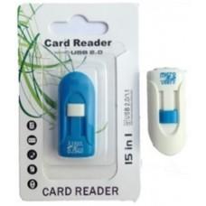 Картридер T-Flash/Micro SD Micro Card Reader ЛОДКА