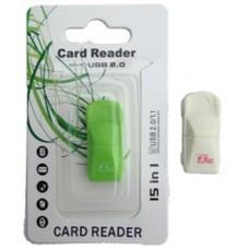 Картридер T-Flash/Micro SD Micro Card Reader МАШИНКА