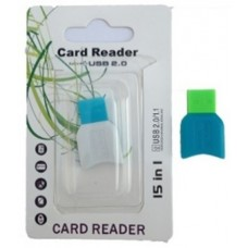 Картридер T-Flash/Micro SD Micro Card Reader плоский