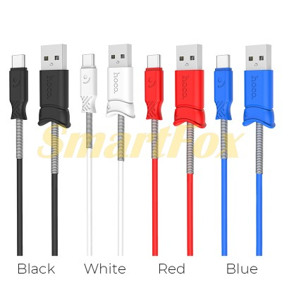 Кабель USB/TYPE-C HOCO X24 2.4A (1 м)