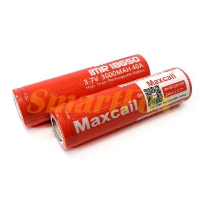 Аккумулятор 18650 Maxcail 3000мАч 3,7В Li-Ion 18650-MAX