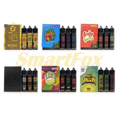 Жидкость для электронных сигарет (упаковка 3 вкуса) 60мл