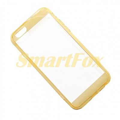 Чехол FASHION CASE COV-016 для IPHONE 6 силиконовый прозрачный