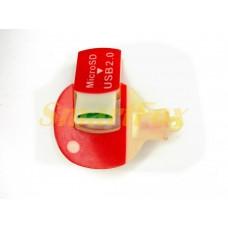 Картридер T-Flash/Micro SD Micro Card Reader ТЕННИСНАЯ РАКЕТКА