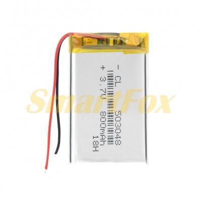 Аккумулятор CL 503048 3,7V 800mAh