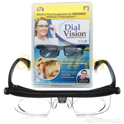 Очки с регулеровкой линз Dial vision