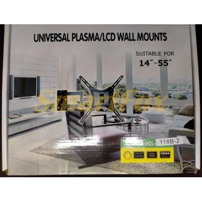 Крепеж настенный для телевизора 118B-2