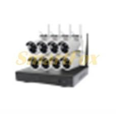Беспроводной комплект видеонаблюдения на 8 камер CT-NW6308