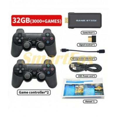 Портативная игровая приставка DATA FROG 4K HD HDMI Стик 10 000 Игр + 2 джойстика PS1