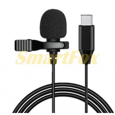 Микрофон петличный JH-42 Type-C Levalier MicroPhone