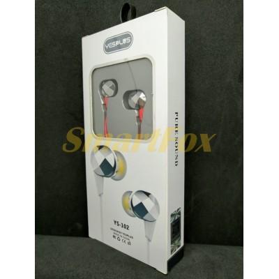 Наушники вакуумные с микрофоном YESPLUS YS102