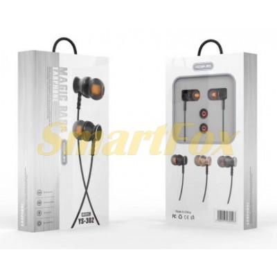 Наушники вакуумные с микрофоном YESPLUS YS302