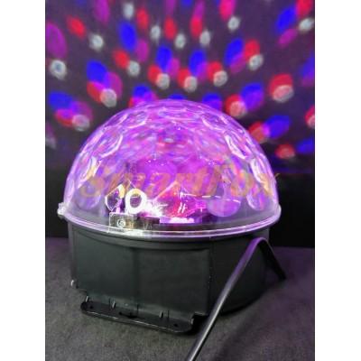 Диско шар LED Cristal Magic Ball Light (без mp3) (без обмена, без возврата)