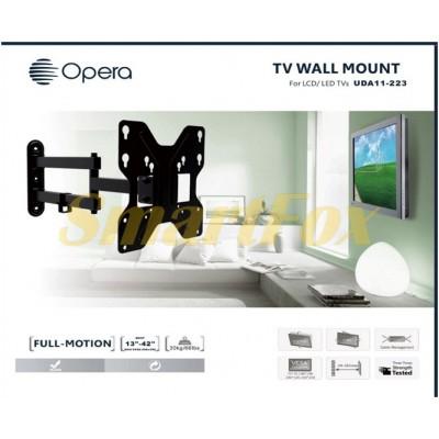 Крепеж настенный для телевизора LDA-11-223