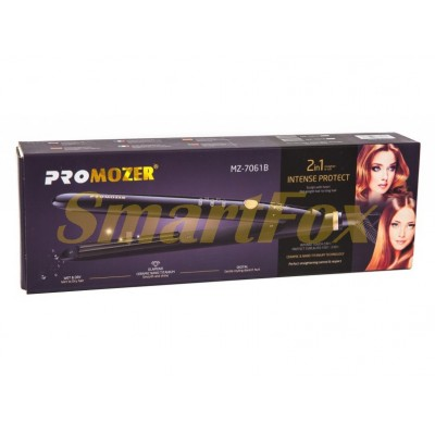 Утюжок гофре для волос Promozer 7061B STRAIGHT