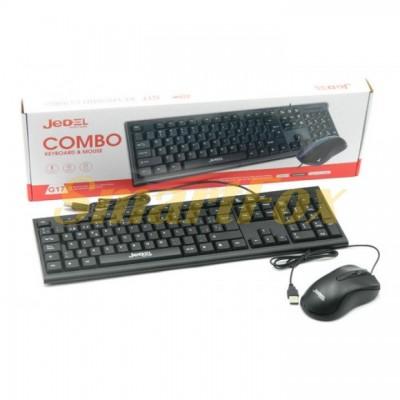 Клавиатура + мышь проводные JEDEL G17