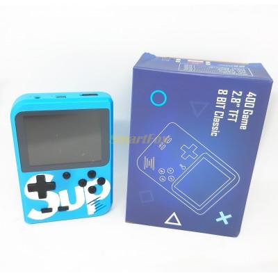 Портативная игровая приставка Game box Sup 400в1+AV синяя