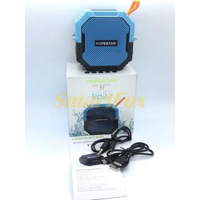 Портативная колонка Bluetooth HOPESTAR T7 (Синий)