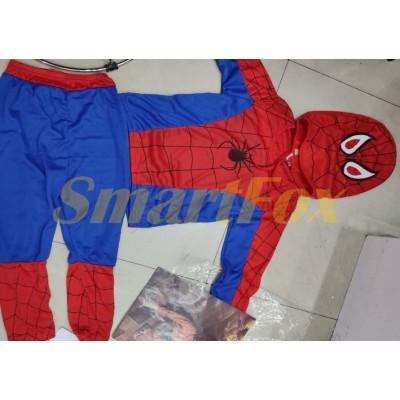 Костюм человека паука (размеры S, M, L)