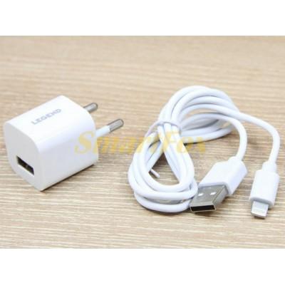 СЗУ USB 2A LEGEND LD901 с Lightning