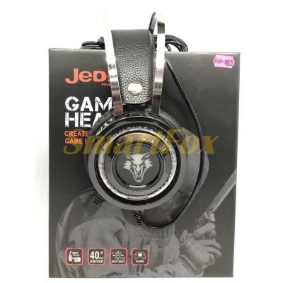 Наушники накладные с микрофоном JEDEL GH183 игровые